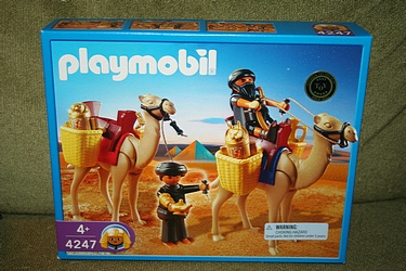 Playmobil - Two Robbers with Camels, Set #4247