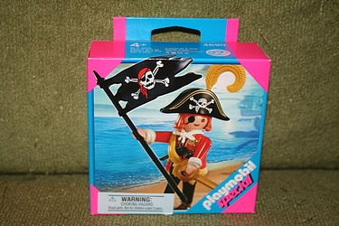 Playmobil - Special Set #4690, Skull Pirate