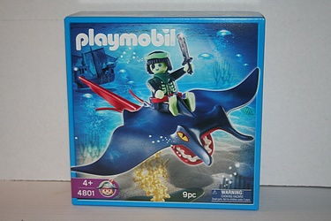 Playmobil Ghost Pirates Set #4801 - Sting Ray Bareback Rider