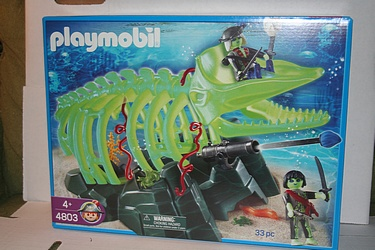 Playmobil Ghost Pirates Set #4803 - Whale Skeleton
