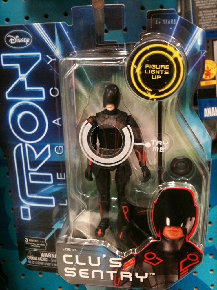 Spin Master Tron Legacy Clu S Sentry Parry Game Preserve