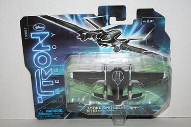 Tron Legacy - Three Man Light Jet Diecast