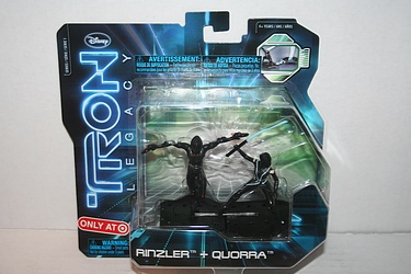 Spin Master: Tron Legacy - Rinzler + Quorra Target Exclusives