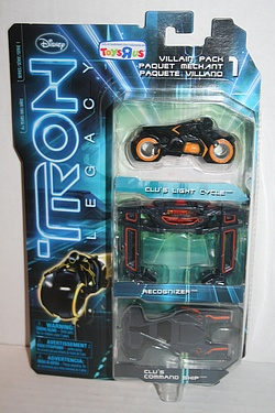 Spin Master: Tron Legacy - Diecast Villain 3-Pack, Toys R Us Exclusive