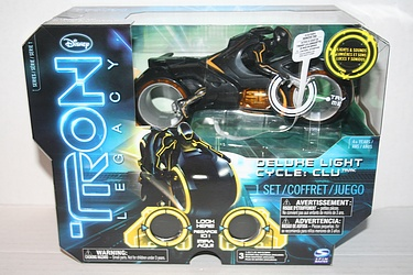 Spin Master: Tron Legacy - Clu's Deluxe Light Cycle