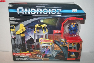 ToyQuest Androidz - Power Drill Zone Playset