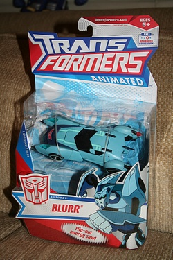 Transformers Animated - Deluxe Class Blurr