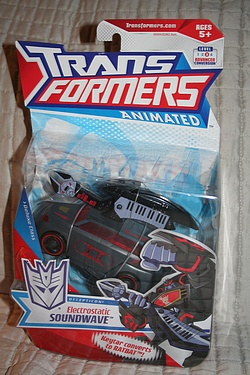 Transformers Animated - Electrostatic Soundwave