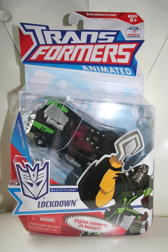 Transformers Animated - Lockdown Deluxe Class Figure ...