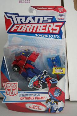 Transformers Animated - Optimus Prime