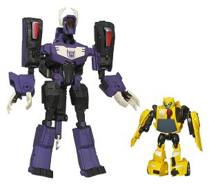 Transformers Animated - Target Exclusive Shockwave and Bumblebee Set