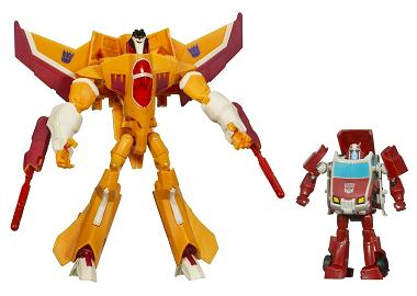 Transformers Animated - Target Exclusive Sunstorm and Ratchet Set