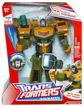 Transformers Animated - Ultra Magnus, Roadbuster Deco