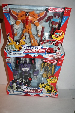 Transformers Animated: Target Exclusive 2-Packs