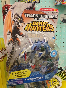 Transformers Prime - Beast Hunters (2013) - Smokescreen
