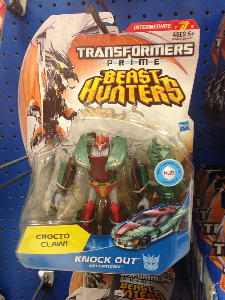 transformers prime beast hunters 2013 knock out