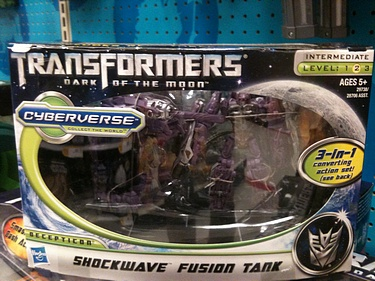 Transformers Dark of the Moon (2011) - Shockwave w/ Fusion Tank