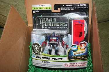 Transformers Dark of the Moon - Preview Optimus Prime