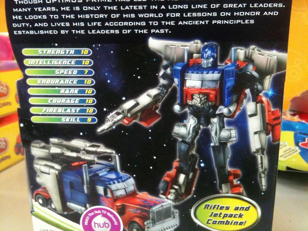Transformers - Dark of the Moon (2011) - Optimus Prime w ...