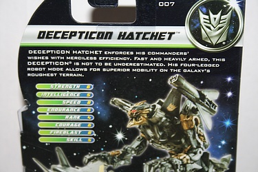 Transformers Dark of the Moon (2011) - Decepticon Hatchet
