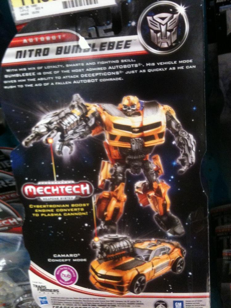 Transformers - Dark of the Moon (2011) - Nitro Bumblebee ...