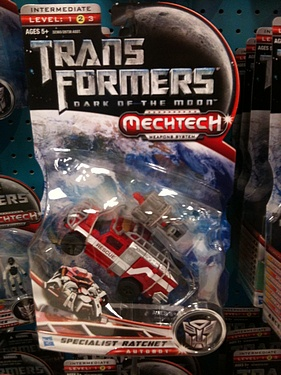 Transformers Dark of the Moon (2011) - Specialist Ratchet