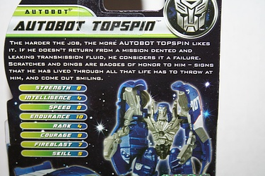 Transformers Dark of the Moon (2011) - Topspin