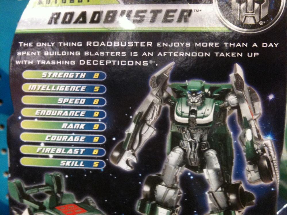 Transformers - Dark of the Moon (2011) - Roadbuster Legion ...