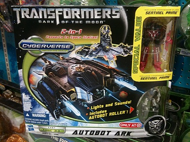 Transformers Dark of the Moon (2011) - Autobot Ark with Roller and Sentinel Prime