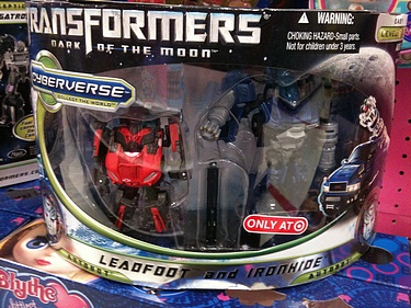 Transformers Dark of the Moon (2011) - Leadfoot and Ironhide