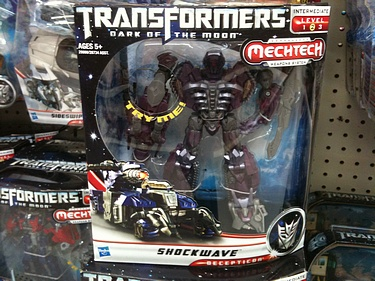 Transformers Dark of the Moon (2011) - Shockwave