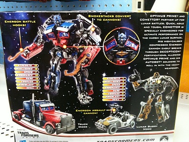 Transformers Dark of the Moon (2011) - Optimus Prime with Comettor