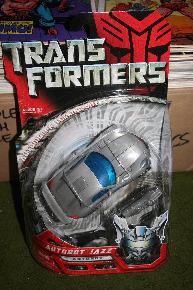 Transformers Movie Toys - 2007: Jazz - Deluxe Class Figure ...