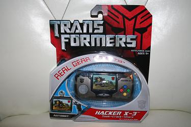 Transformers - Hacker X-3 Real Gear