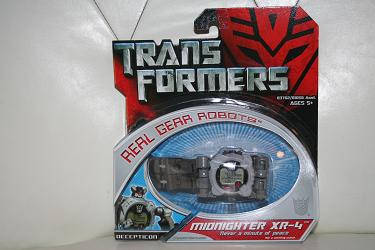 Transformers 2007 Movie Real Gear - Midnighter XR-4