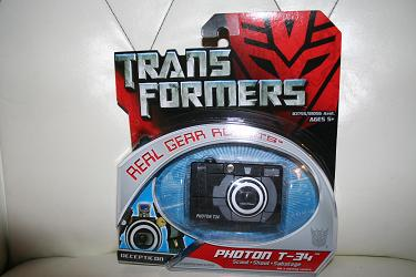 Transformers Real Gear - Photon T-34
