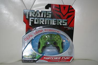 Transformers Real Gear - Twitcher F451
