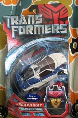 Transformers WalMart Exclusive Breakaway
