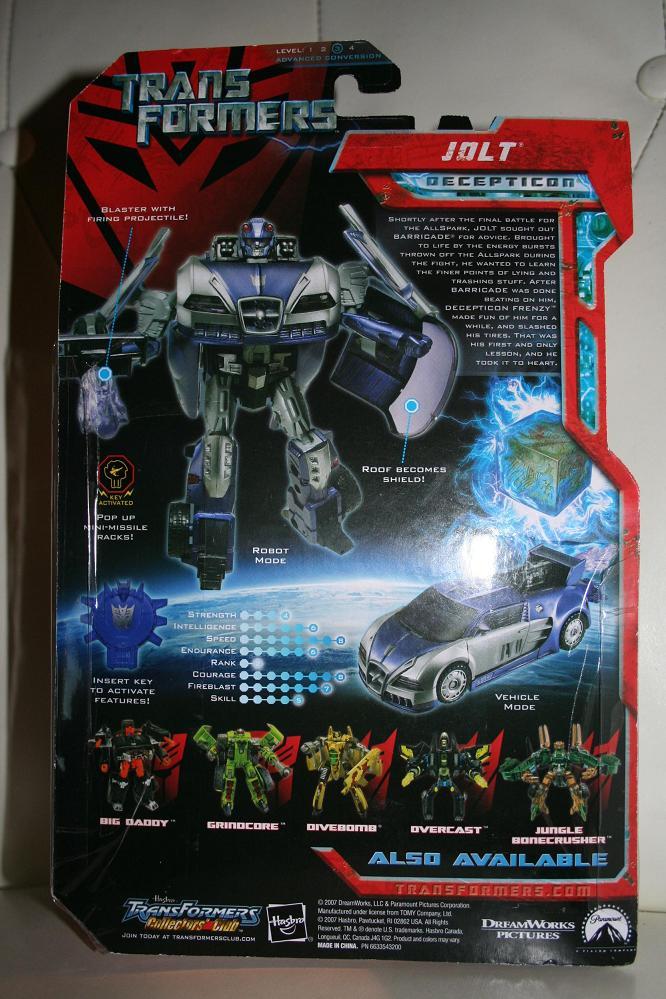 transformers movie toys 2007 jolt walmart exclusive