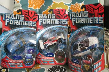 WalMart Exclusive AllSpark Deluxe Transformers, Wave 2