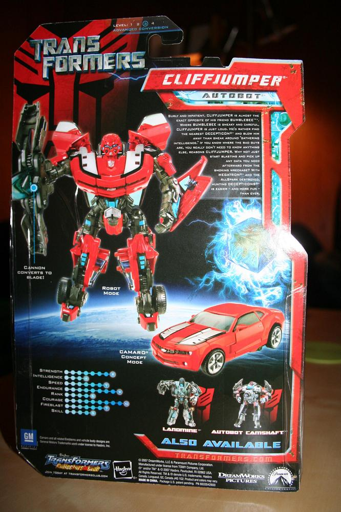 red bumblebee aka CliffJumper