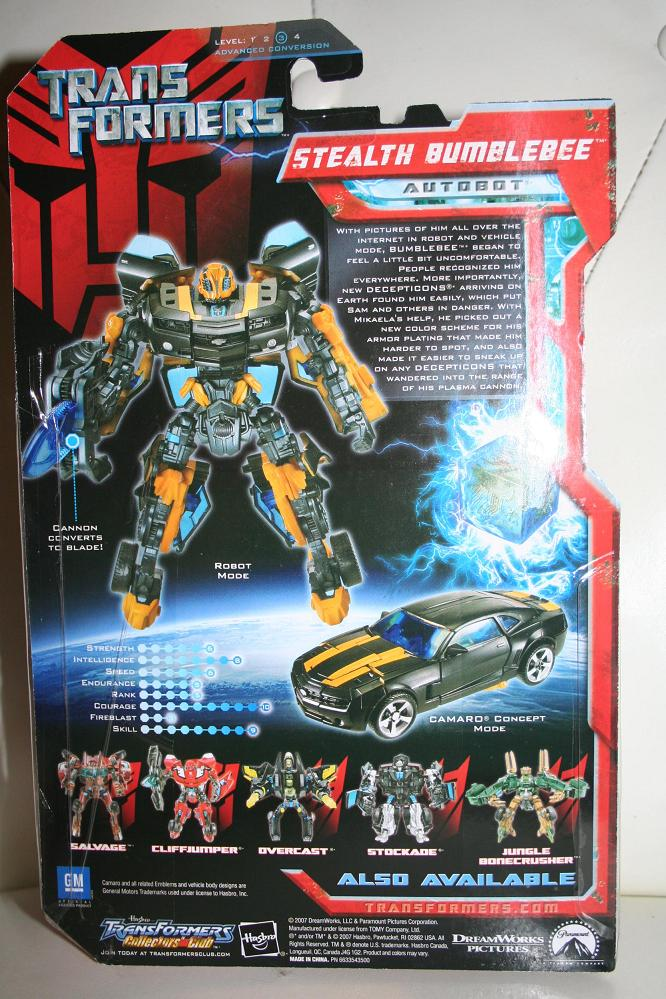 transformers movie toys 2007 stealth bumblebee deluxe