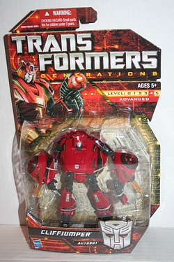 Transformers More Than Meets The Eye (2010) - Cliffjumper