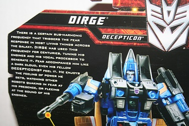 Transformers More Than Meets The Eye (2010) - Dirge