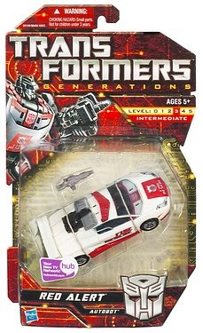 Transformers More Than Meets The Eye (2010) - Red Alert