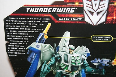 Transformers More Than Meets The Eye (2010) - Thunderwing