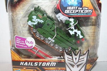 Transformers More Than Meets The Eye (2010) - Hailstorm Deluxe Class
