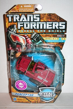 Transformers More Than Meets The Eye (2010) - Perceptor Deluxe Class