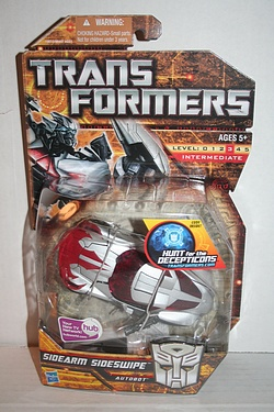 Transformers More Than Meets The Eye (2010) - Sidearm Sideswipe Deluxe Class
