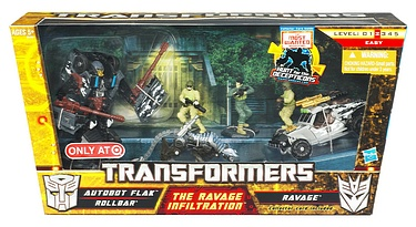 Transformers More Than Meets The Eye (2010) - The Ravage Infiltration - Target Exclusive